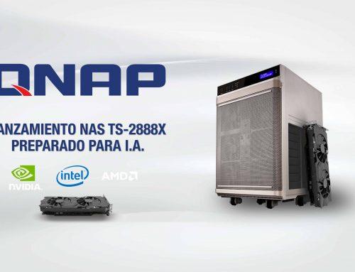QNAP TS-2888X, el NAS preparado para Inteligencia Artificial