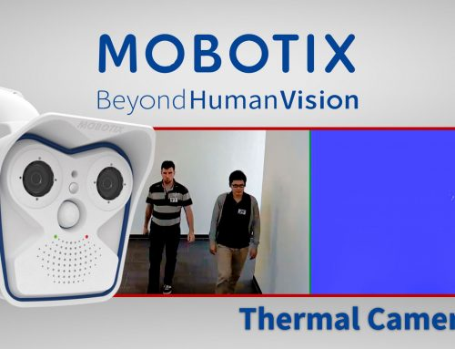 Detección de fiebre con Mobotix Thermal Radiometry